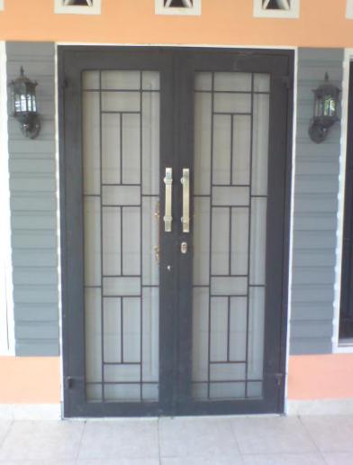 Model Teralis Pintu Minimalis 03