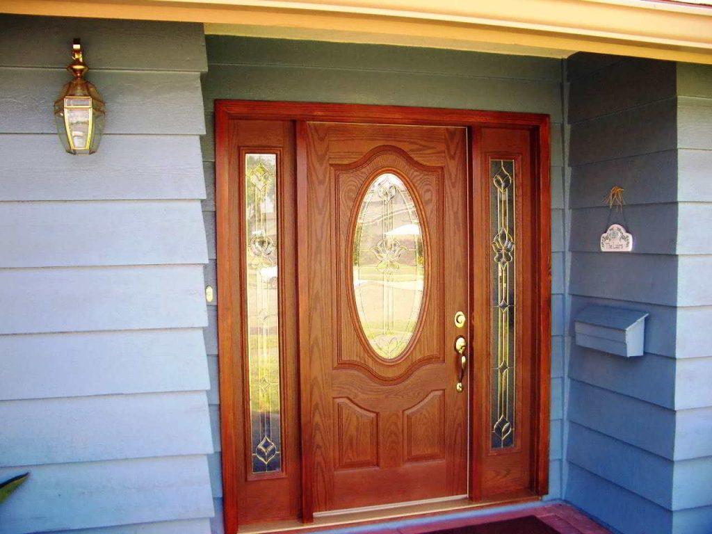 Kusen Pintu Sederhana untuk Pintu Kayu