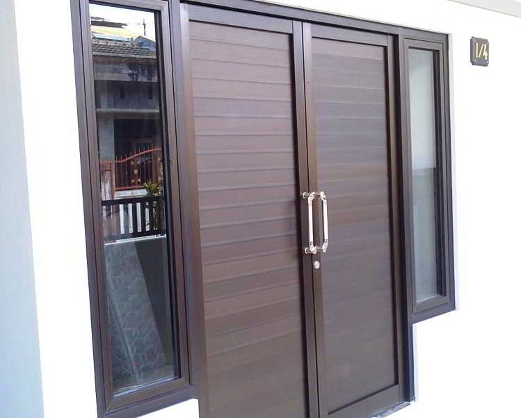 Model Pintu Besi Minimalis