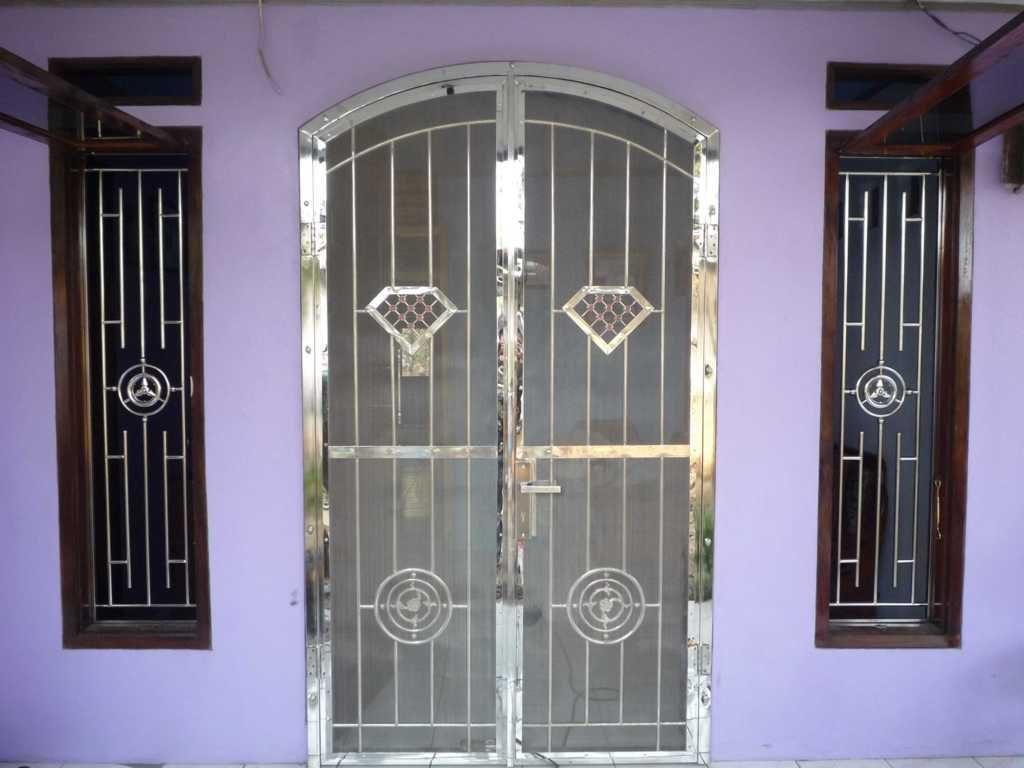 Pintu Besi Stainless Steel