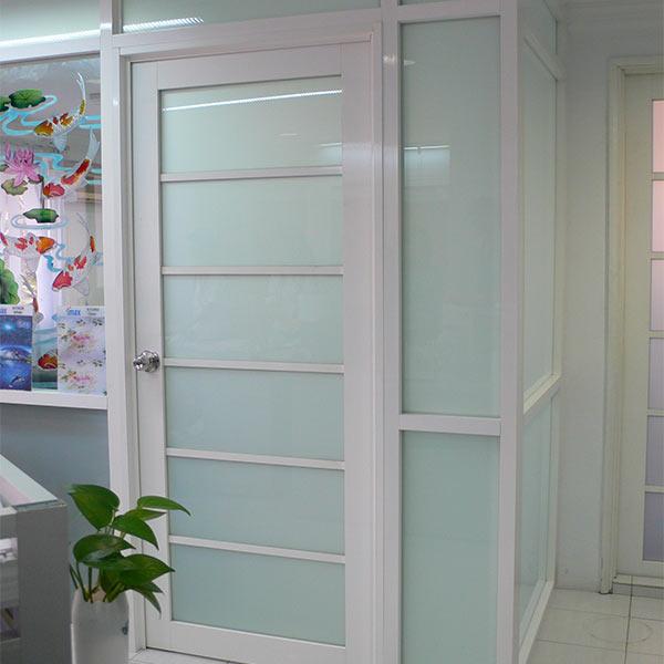 Pintu Kamar Mandi Aluminium Minimalis