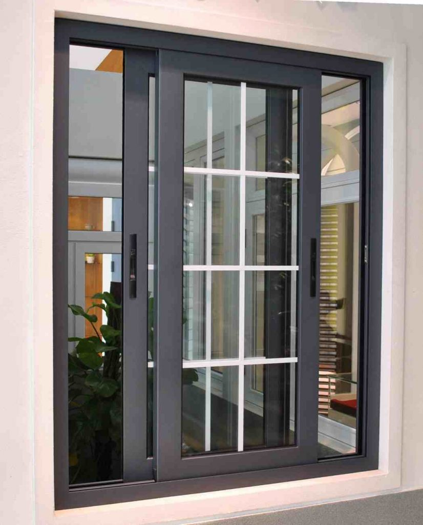 Pintu Minimalis Kaca Geser
