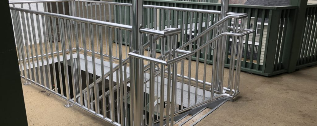 Railing Tangga Stainless Steel